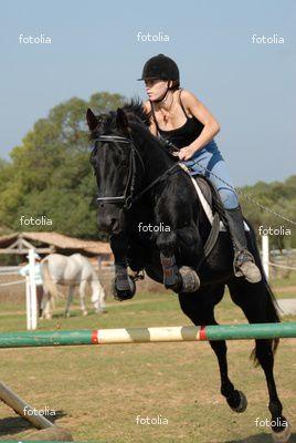 moi sur mon cheval