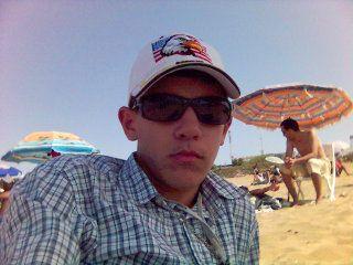 moi à la plage de temara