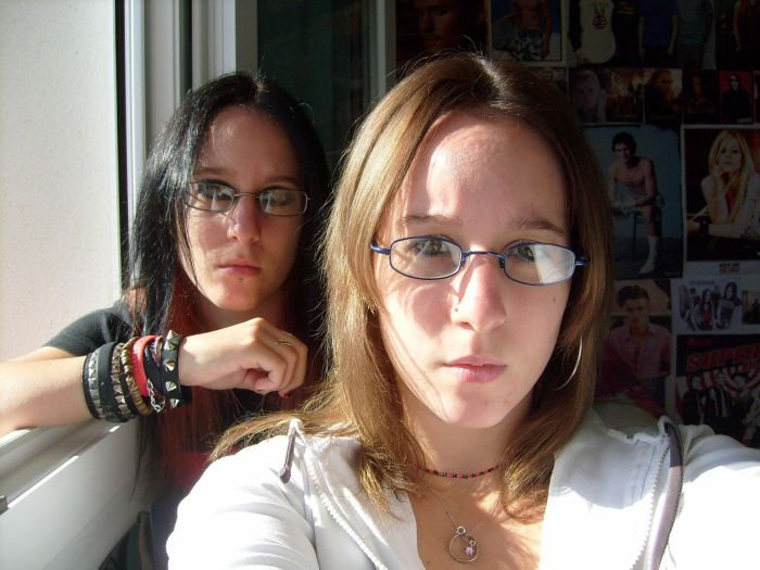 ma twin et moi