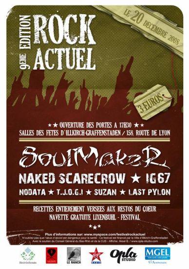 SOULMAKER au festival ROCK ACTUEL