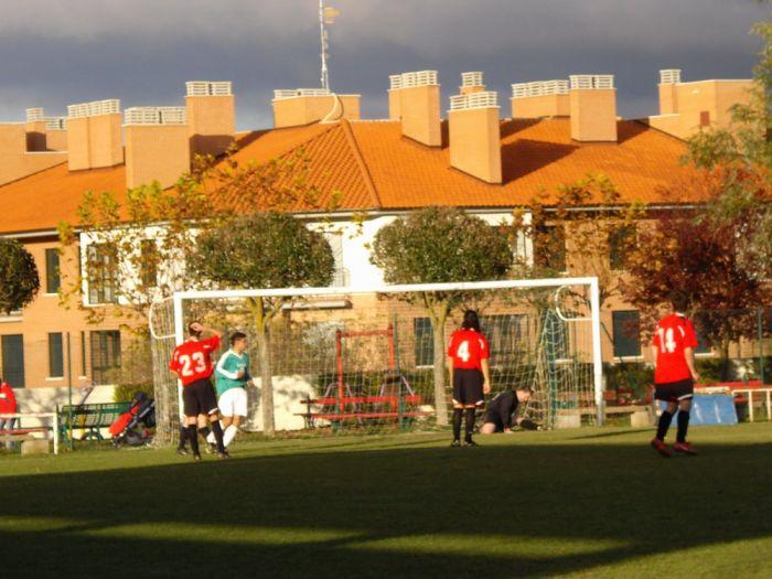 También nos meten algún gol (Foto: Ignacio)