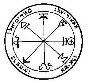 The 1st Pentacle of Mars For courage