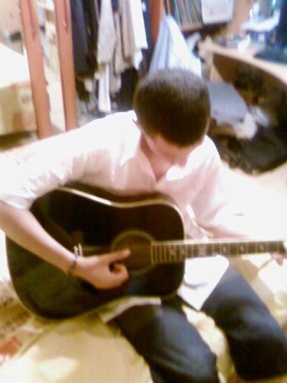 Moi avec ma guitar