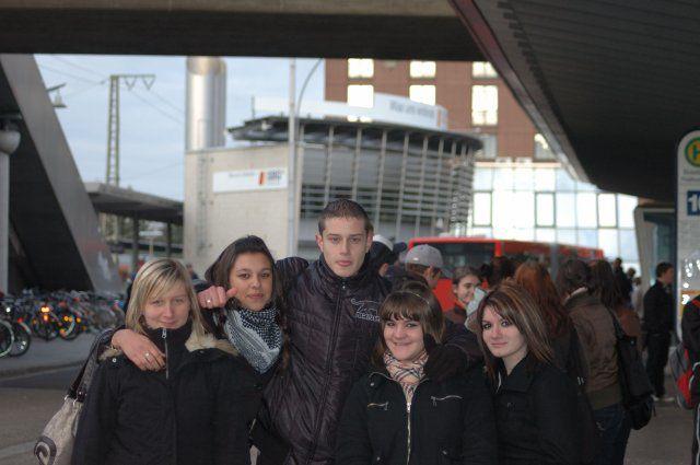 Pauliine, Jess, Victor, sista et moi
