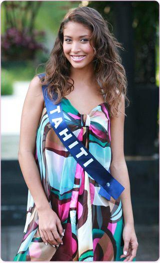 hinatéa une copine qui a représentée la beauté tahitienne
