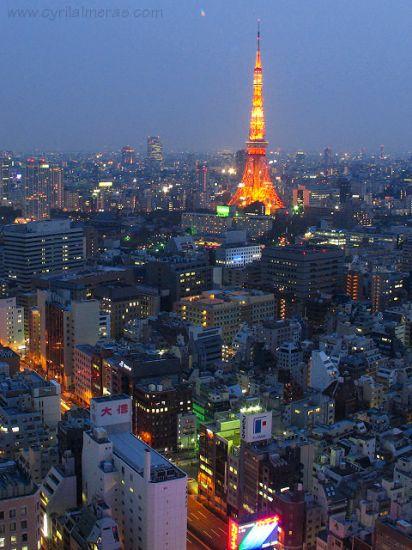 Magnifike ville de Tokyo <3