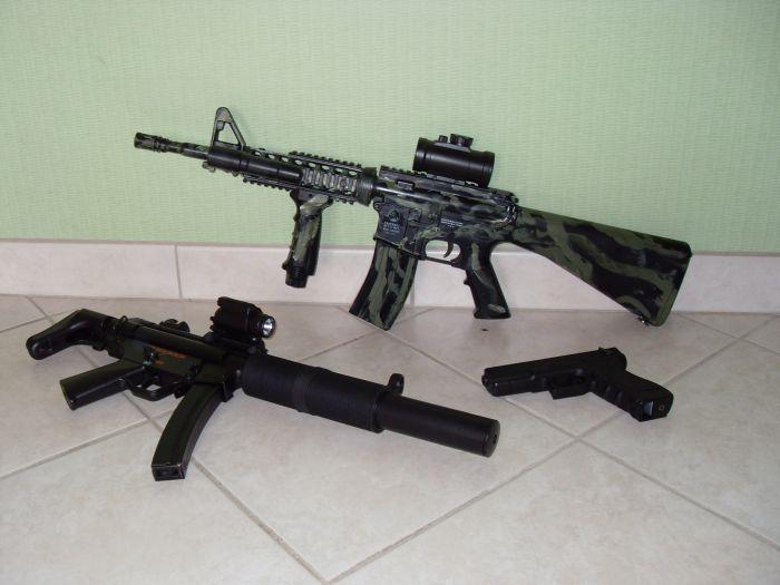 les arme de mon oncle
