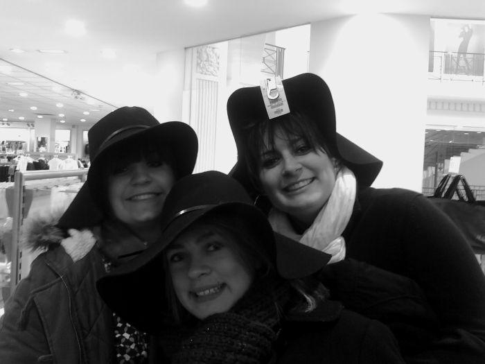Lison, Tréssy et Amandine