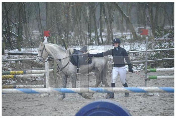Pauline et Fandago poneyland 31 nov