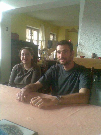 Mon frère Cédric et Anne sa femme