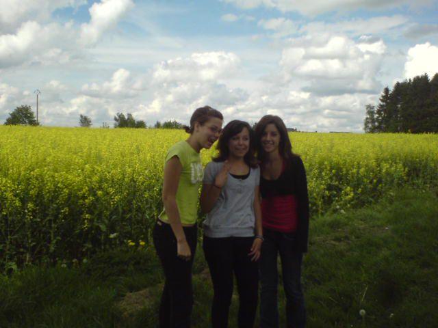 Naomie, Emilie et Fauve :)