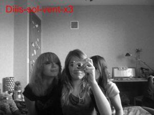 Solene, Mylena & moi.