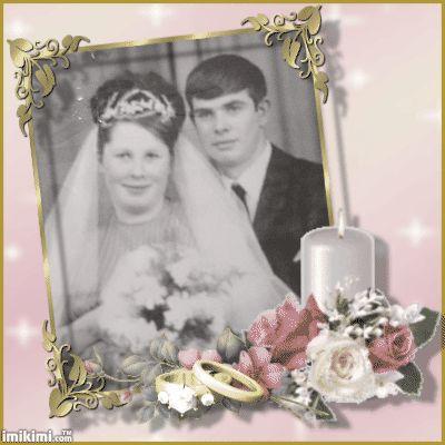 papa et maman en marier