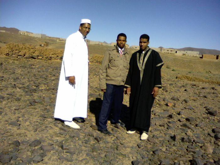 mn frère khalid, abdel (moi), et younes