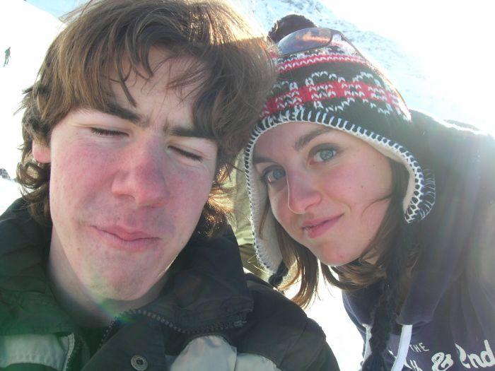 journée au ski x]