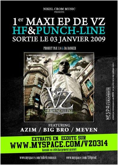 """PREMIER MAXI EP DE ::VZ:: """" HF & PUNCH-LINE """""""