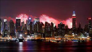 New York en feu d'artiiifiiice