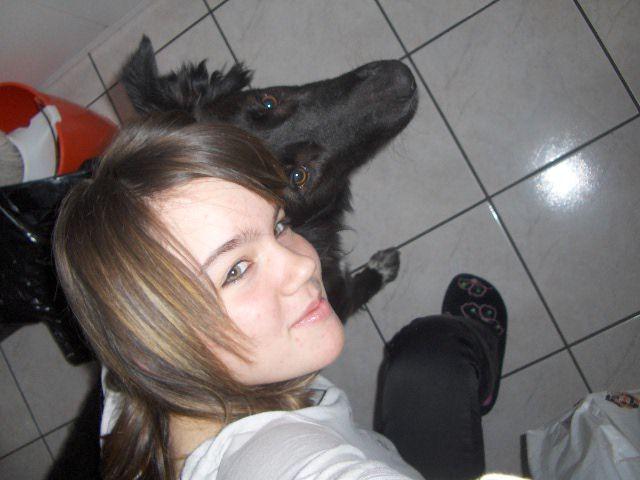 moi et ma chienne =)