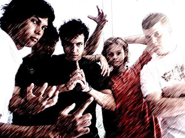 Alex, lou, Jo, Moi et Omah