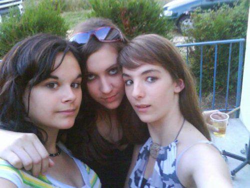 Mégane, Vlassia & moi au 21 ans du fréro ! trop bien !!
