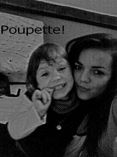 poupette et moi♥