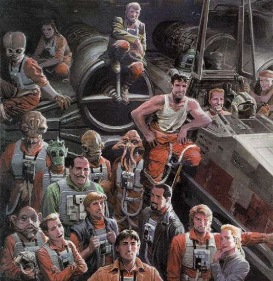 Rogue Squadron Early Years