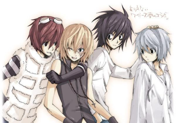 Matt, Mello, Lawliet, Near