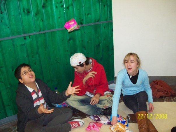 Anton , Anastasia and me