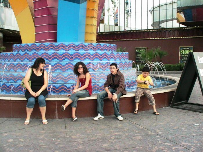 Ma famille & moi à Las Vegas !!