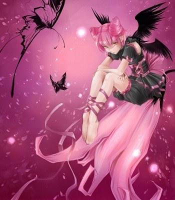 Ange black&pink
