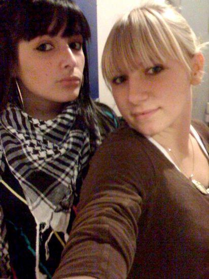 Moi et la blonde :D