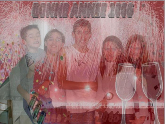 mes 5 enfants le31/12/2005