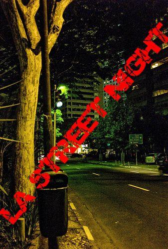 la street night