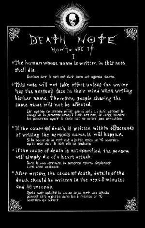 Haaaaan death note *_*
