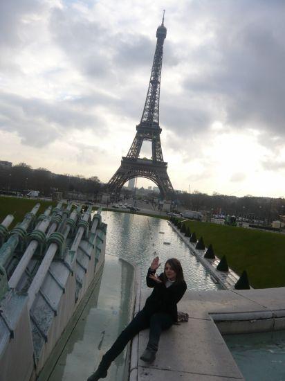 Moii sur le Trocadéro