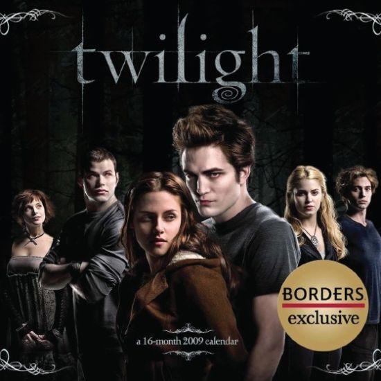 Official calendriar Twilight 2009