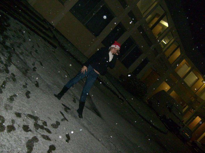 Sous la neige =D
