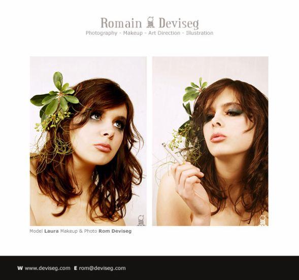 Laura by Romain Deviseg (Makeup & Photography)