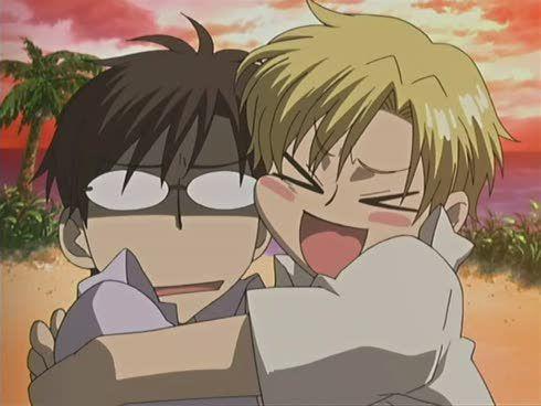 <3<3 Kyouya & Tamaki <3<3