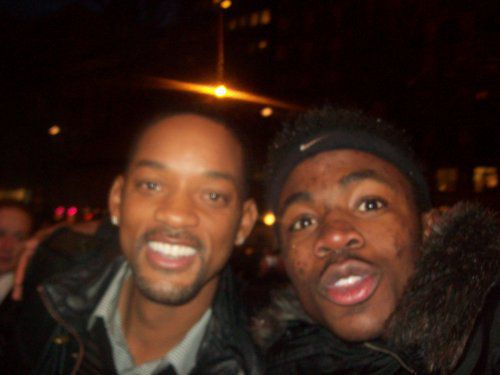 Moi et Will Smith