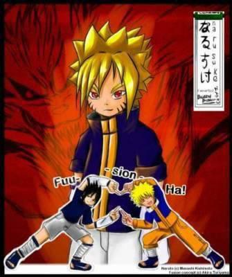SasuTo     Fusion de Naruto Uzumaki et Sasuke Uchiha xDD