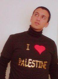 """cheb hatim """"I love palestine"""""""
