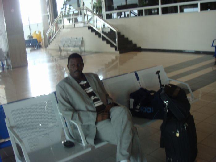 Aéroport Abidjan en partance pour Dakar le 20 novembre 2008
