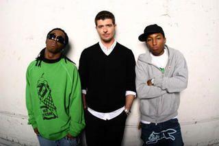 Lil Wayne ,Robin Thicke & Pharelle Williams