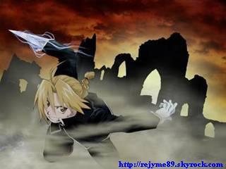Mon avatar ''Edward Elric''