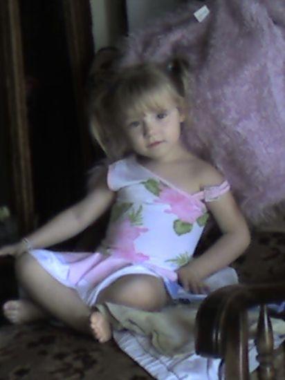 ma fille Alicia à 3 ans