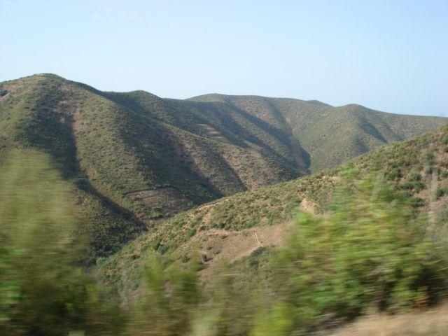 les montagne de skikda