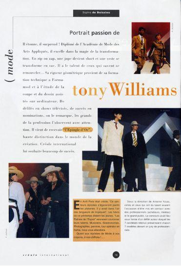 CTWAK   C. TONY.WILLIAMS