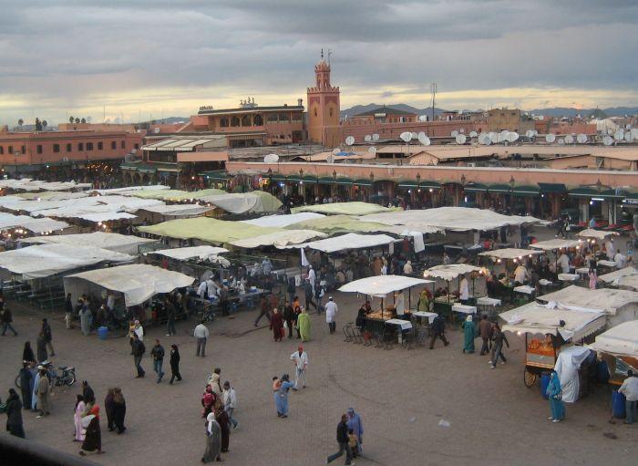 célèbre Piazza de marrakech