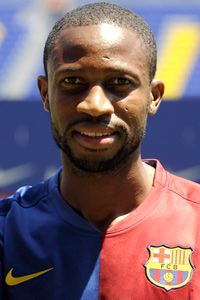 L'international Malien Seydou Keita FC Barcelone